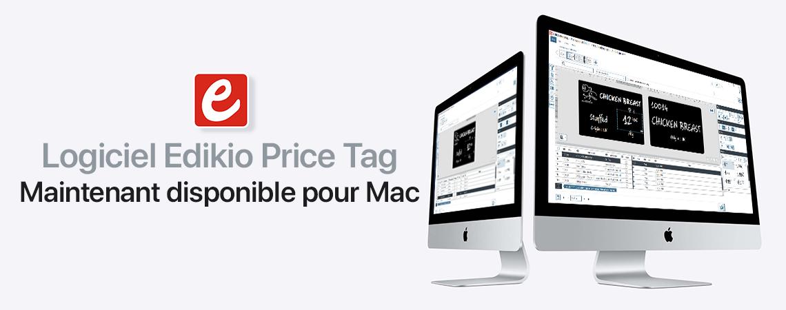 Edikio Price Tag for Mac