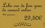 Edikio Price Tag - Boucherie Carte Exemple