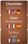 Edikio Guest - Badge de personnel